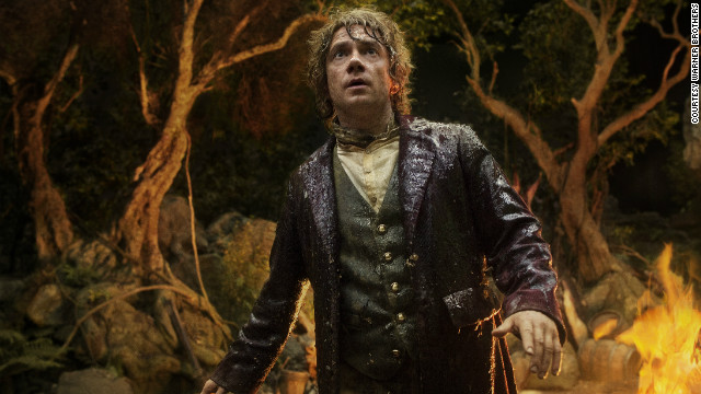 "Bilbo Baggins goes on quite a journey in ""The Hobbit,"" and one fan is embarking on a journey of her own to see it."