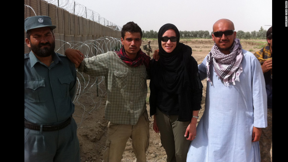 Paula Broadwell went to Afghanistan in 2011.