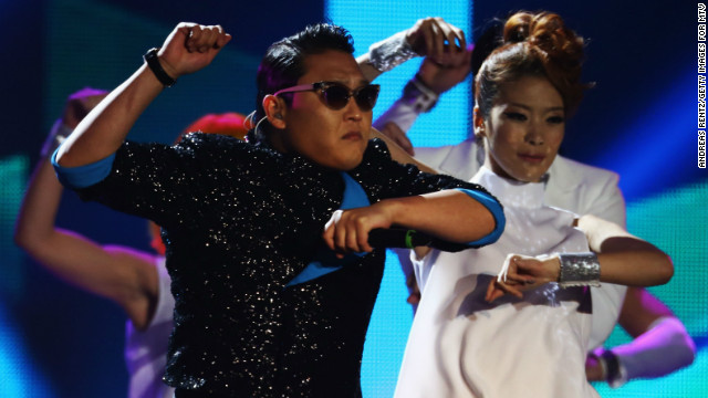 Psy speaks with CNN