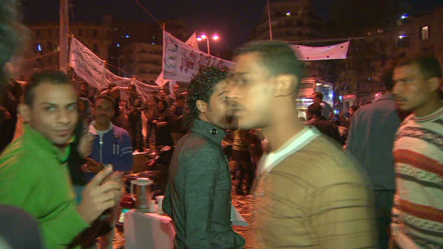 Egypt's nighttime protests carry on