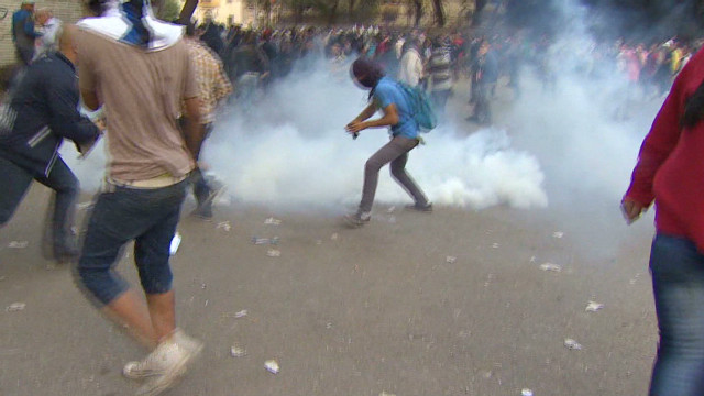 Watch: On the ground in Tahrir Square