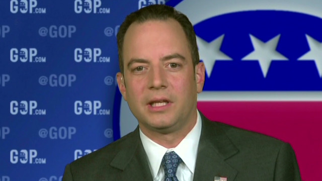 Republican National Committee Chairman Reince Priebus conducted a three-state Western tour to scope out the Latino vote.