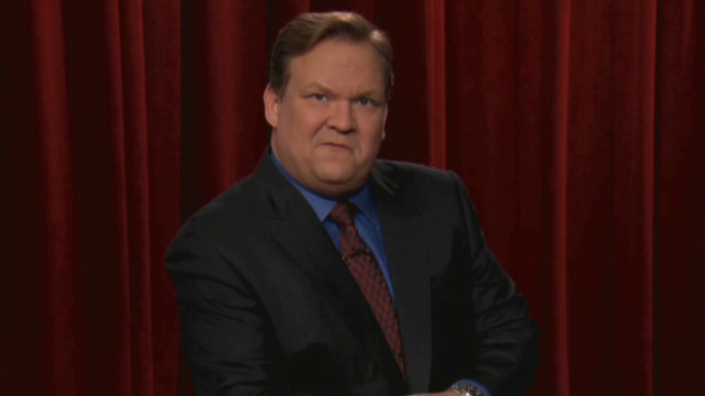 Conan: Andy's advice for Angus T. Jones