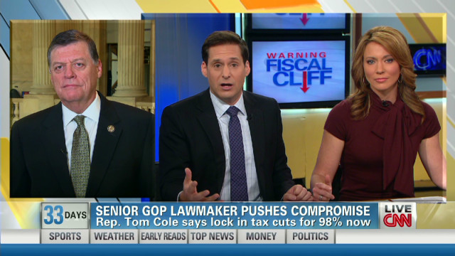 Rep. Cole: Tactic strengthens position