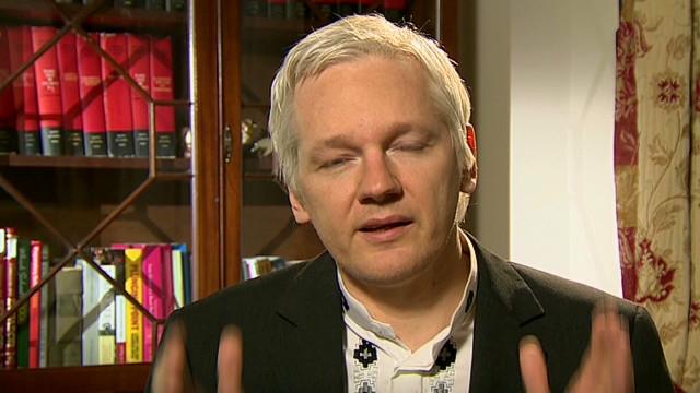 Assange dodges Ecuador asylum question