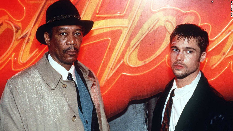 "In 1995, Pitt had another breakout role in the thriller ""Se7en,"" in which he co-starred with Morgan Freeman."
