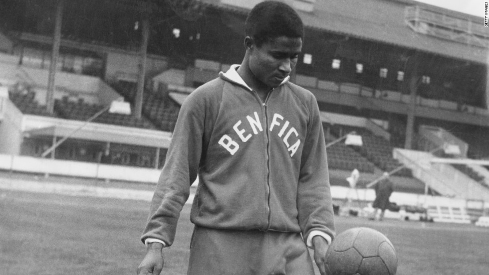 Eusebio was brought to Benfica from Mozambique by Guttmann in 1961. Under his guidance Eusebio would go on to greatness, establishing himself as one of the game's most talented players.