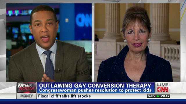 Outlawing gay conversion therapy