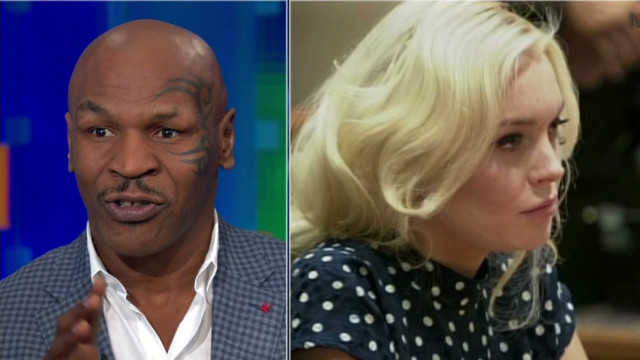 What Tyson says Lohan needs