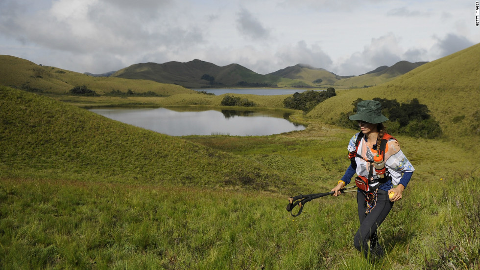 South America reportedly inspired luggage company Tumi. Find your own inspiration there, too, with hiking north of Quito, Ecuador.