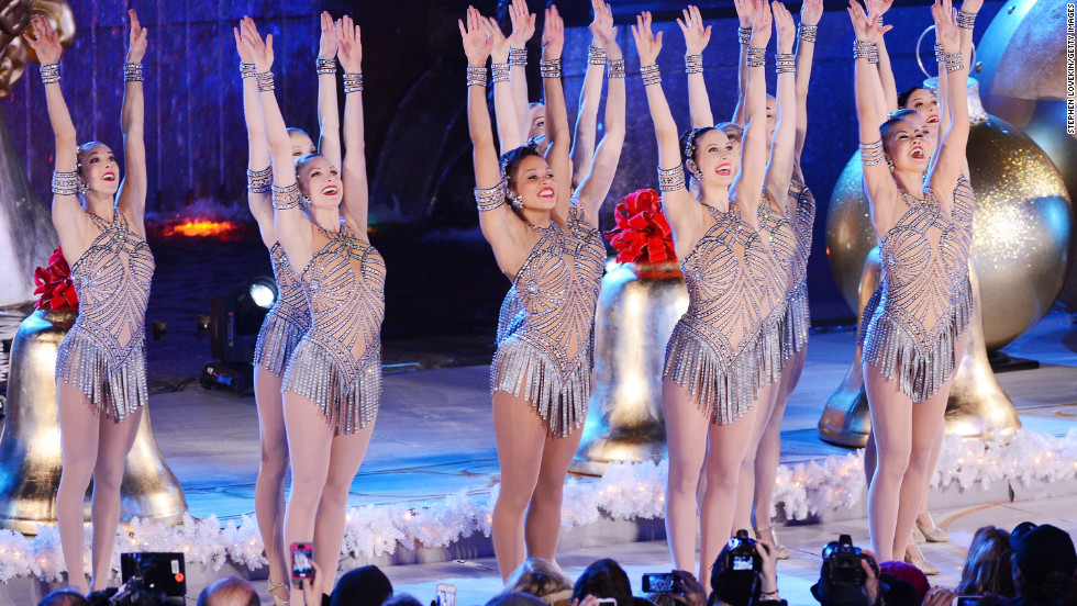 The Rockettes performed at the 80th Annual Rockefeller Center Christmas Tree Lighting Ceremony on November 28.