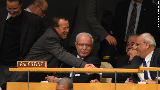 Palestine status upgraded at U.N.