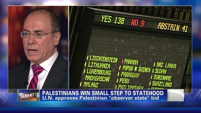 Palestine status upgraded at U.N.