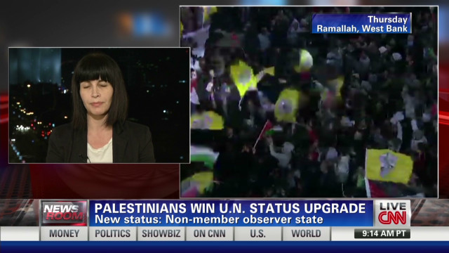Israel responds to UN Palestinian vote