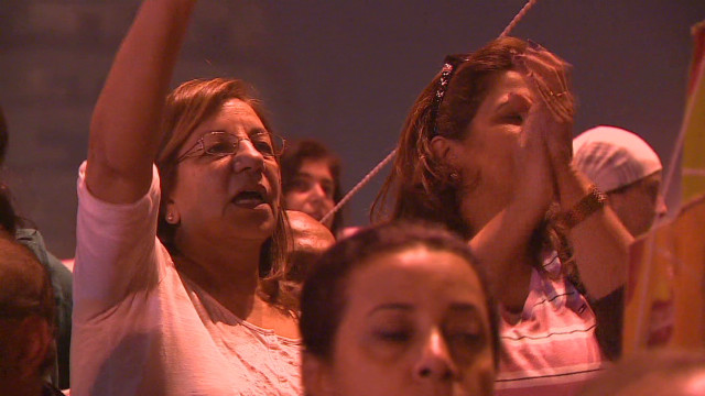 Egyptian women protest against Morsy