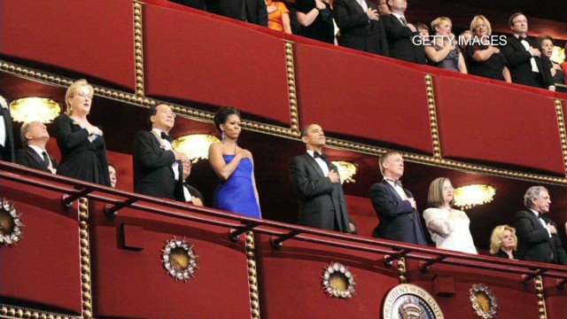 Kennedy Center honors Letterman, others