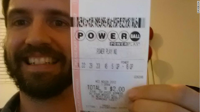 This Facebook image of a man claiming to have won the $588 million Powerball jackpot was shared more than 2 million times.