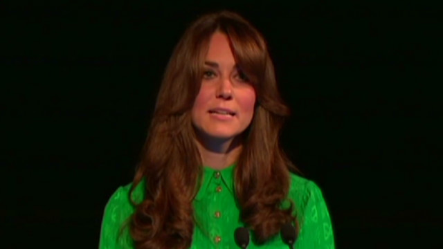 Kate Middleton expecting first child