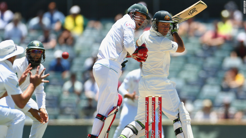 However, he fell for just eight runs and the home side went on to lose by 309 for a 1-0 series defeat as South Africa retained the top Test ranking.