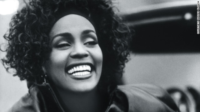 Whitney Houston photo book tribute