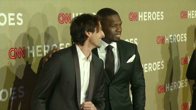 CNN Heroes hit the red carpet