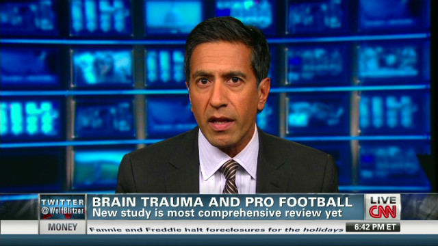 Study examines football, brain damage
