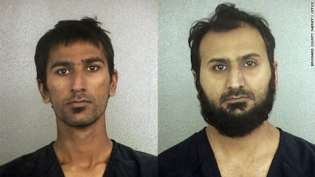 Raees Alam Qazi, 20, left and Sheheryar Alam Qazi, 30, were arrested in November for allegedly plotting a terror attack.