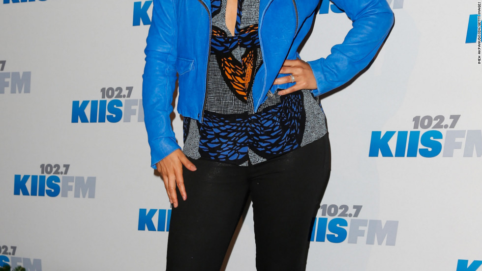 Alicia Keys attends KIIS FM's 2012 Jingle Ball in Los Angeles.