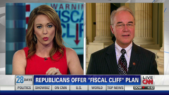 Republicans offer 'Fiscal Cliff' plan