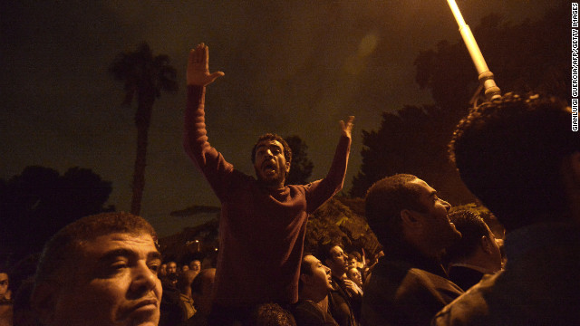 Egyptian media shut down in protest