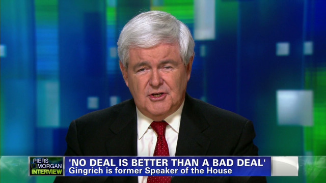 Newt Gingrich on fiscal cliff