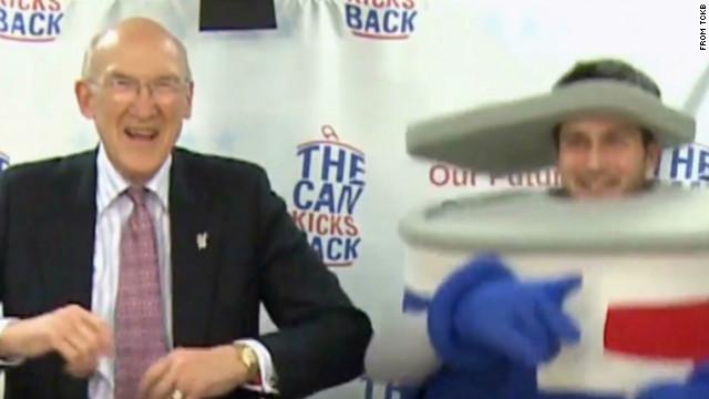 Former Sen. Simpson goes 'Gangnam Style'