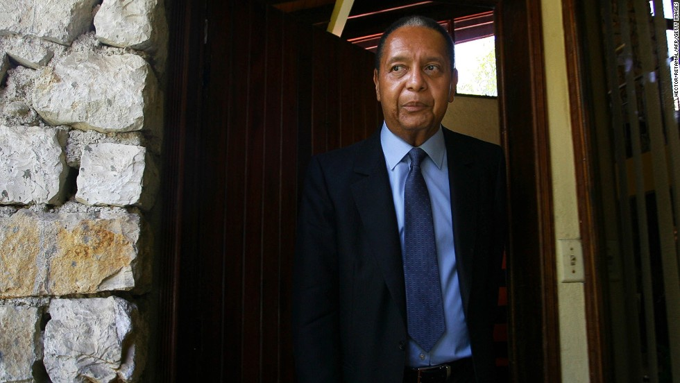 """Jean-Claude """"Baby Doc"""" Duvalier became Haiti's """"president for life"""" when his father, Francois """"Papa Doc"""" Duvalier, died in 1971. After Baby Doc's rule ended in 1986, he spent 25 years in lavish exile in France. Duvalier unexpectedly returned to Haiti in 2011 and will face trial on corruption charges."""
