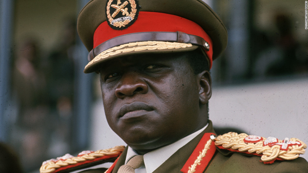 Idi Amin joined the newly independent Ugandan army in 1962, took over the armed forces in 1966 and seized presidential power in a military coup in 1971. During Amin's eight-year rule, an estimated 500,000 people disappeared or were killed. When Tanzanian troops and Ugandan dissidents stormed his palace in 1979, Amin fled to Saudi Arabia, where he died in 2003.