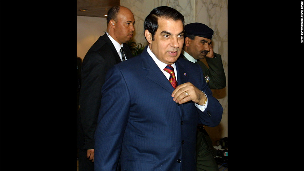 Soon after the Arab Spring movement began in January 2011, in Tunisia, President Zine El Abedine Ben Ali, who had ruled since 1987, became the first of several long-presiding dictators in the region to abdicate his office. Ben Ali has lived in exile in Saudi Arabia since then, and he faces a potential death sentence if he returns home.