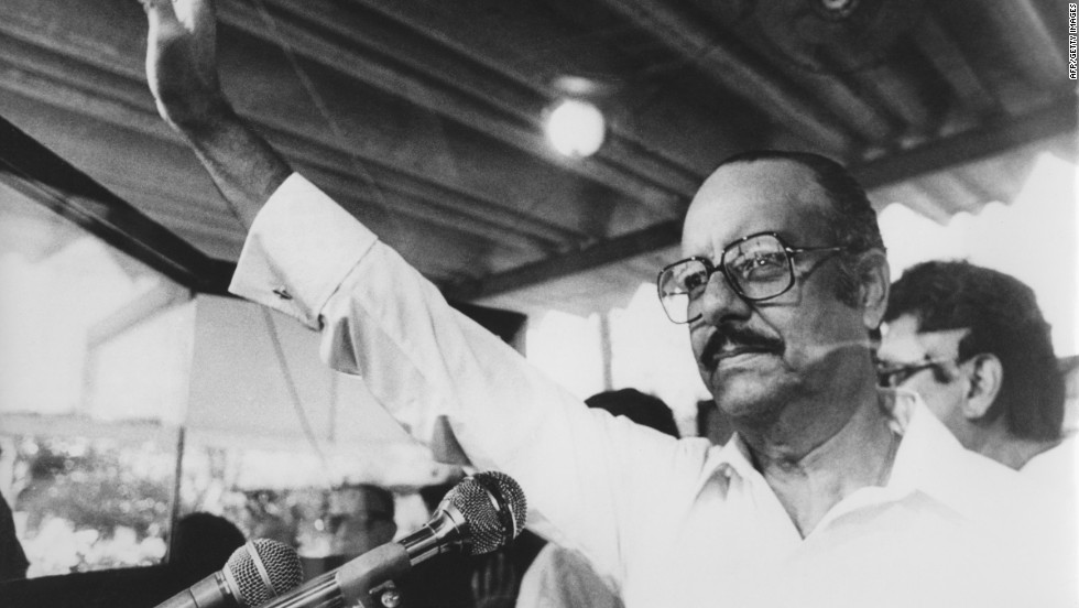 Anastasio Somoza Debayle was the third member of his family to rule Nicaragua, after his brother and his father, who led a 1936 military coup. From his installation in 1967 to his ouster in 1979, the younger Somoza pitched an ongoing battle against leftist Sandinista rebels. He fled to Miami, then to Paraguay, where a rocket-propelled grenade struck his limousine, killing him, in 1980.