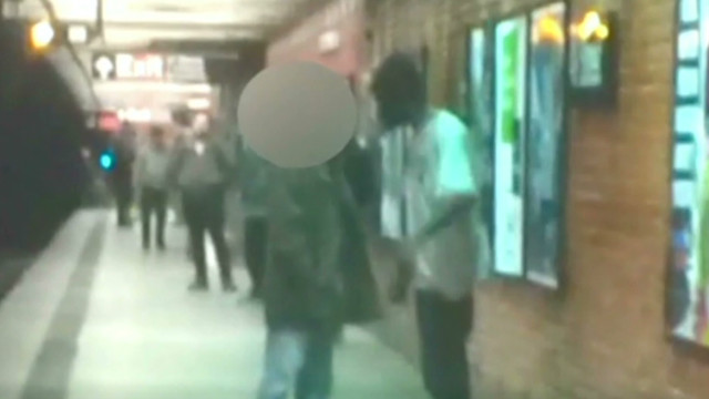 Photo of subway death sparks outcry