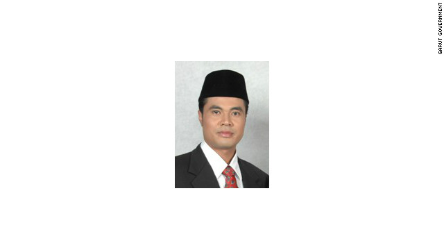 Aceng Fikri is head of the district of Garut in West Java.