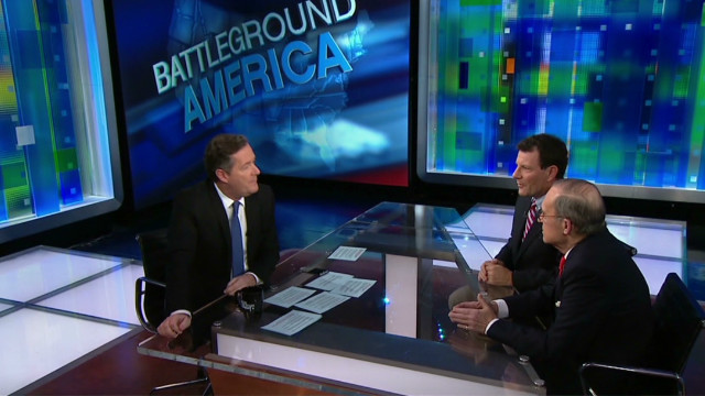 Kudlow and Kristof on fiscal cliff