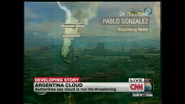 Toxic cloud over Buenos Aires