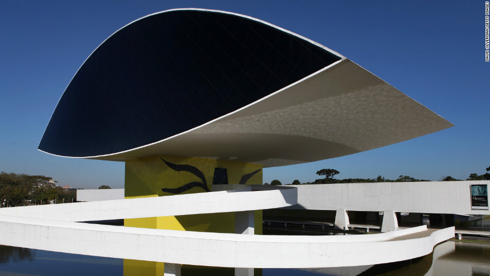 "The first building of the <a href=""http://www.museuoscarniemeyer.org.br/institucional/sobre-mon"" target=""_blank"">Oscar Niemeyer Museum</a> was designed by him in 1967. The museum, located in Curitiba, Brazil, first opened in 1978, but more than two decades later, further expansions were made and the museum was reopened in 2003."