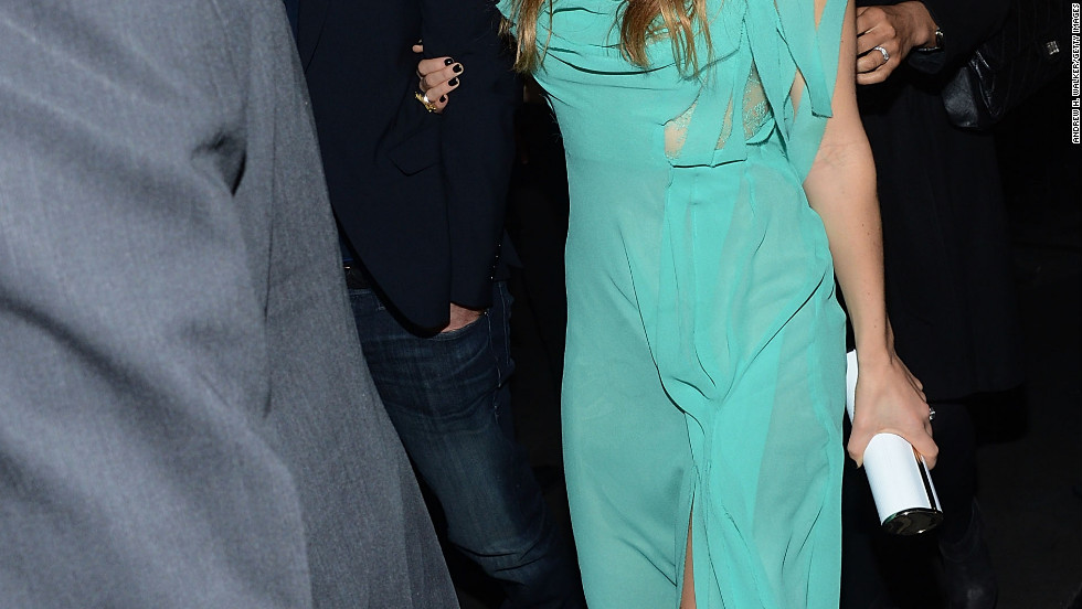 Justin Timberlake and Jessica Biel attend a party in New York City.