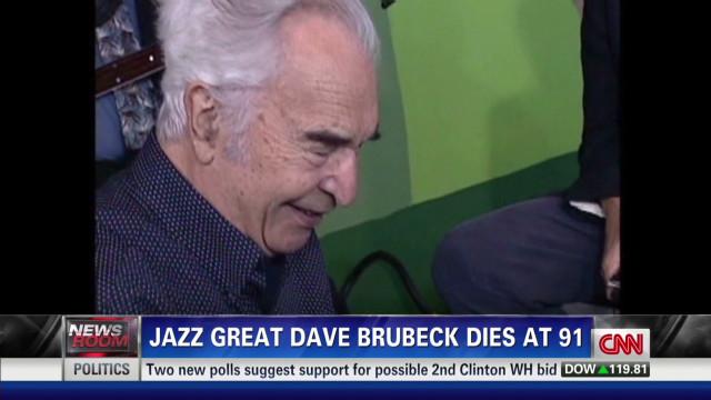 Jazz legend Dave Brubeck dies