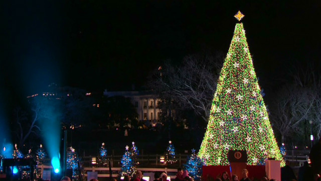 National Christmas Tree lights up DC