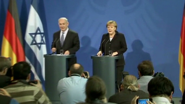 Israel, Germany disagree on settlements