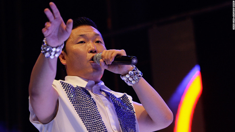 """<strong>7. Psy</strong>This 34-year-old South Korean rapper burst onto the world stage with his song """"Gangnam Style,"""" which has become the most watched YouTube video of all time and the only one to get more than one billion views on the site.The song is named after an upmarket district of Seoul, but it is Psy's horse-riding style dance moves that caught everyone's imagination and have been tried by everyone from Ban Ki Moon to Ai Weiwei."""