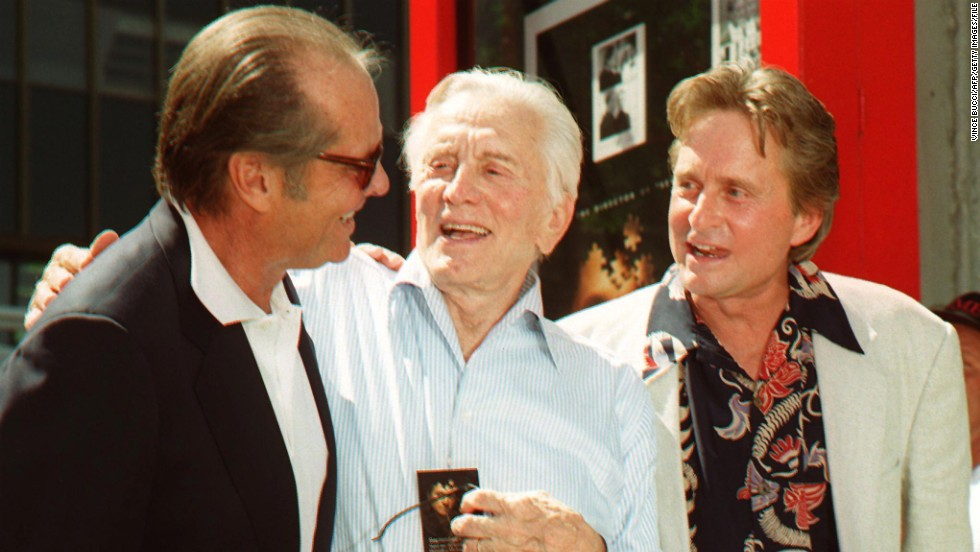 "... 1997. Michael Douglas is the first ""second generation"" movie star to"