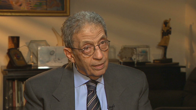 CNN exclusive with Amr Moussa, Egypt's opposition leader