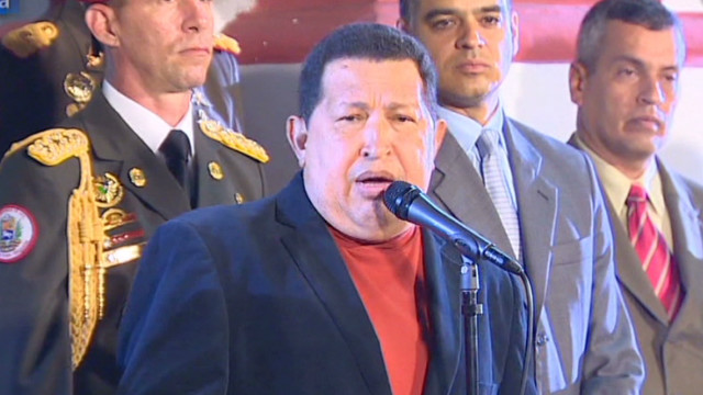 Hugo Chavez says his cancer is back
