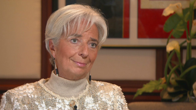 Lagarde: 'Zero' U.S. growth without deal